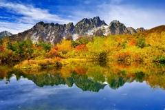 Autumn mountainous-landscape-