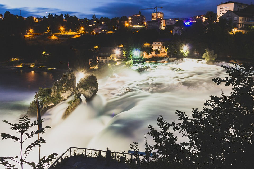 Rheinfall River Switzerland
