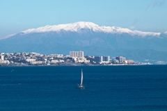 Mount Malaga Spain