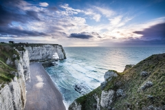 Normandy Beach Cliff