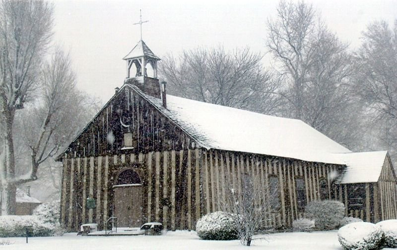 Holy Family Log Church