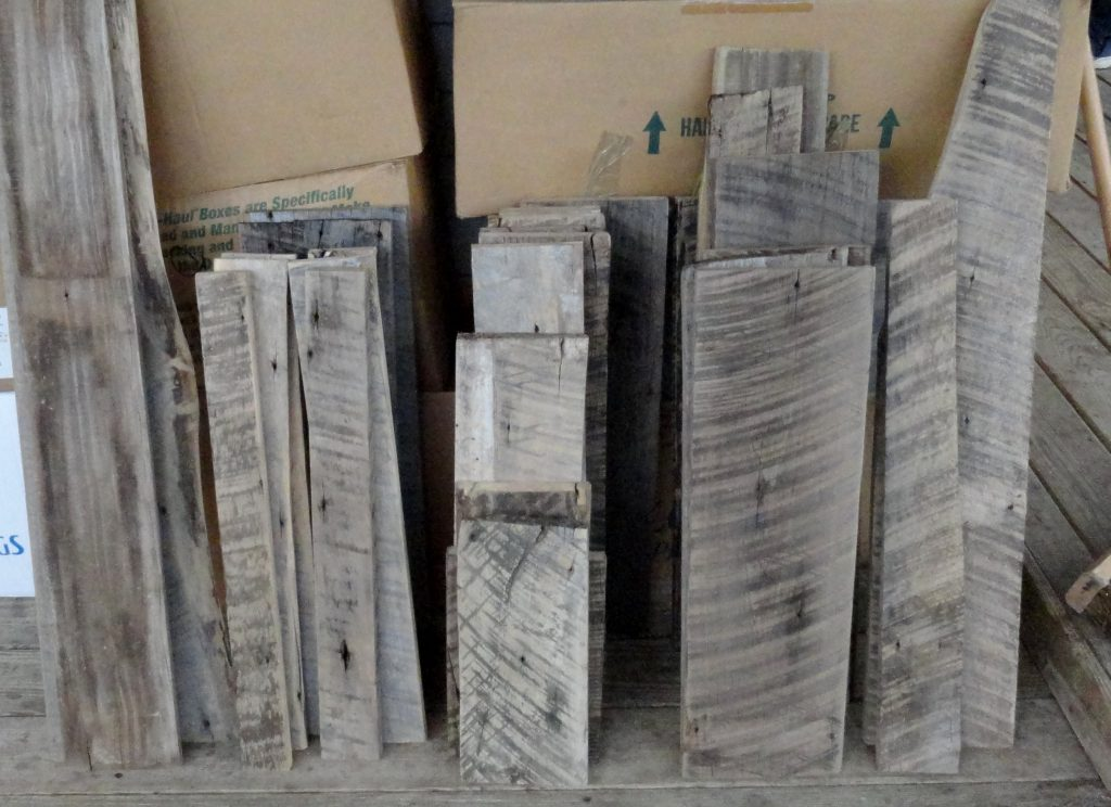 Barn Wood Chalk Boards Making Progress! - Back Roads Living