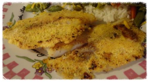 Tilapia Fish Served Cajun Style 1
