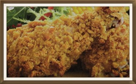 Unfried Chicken Recipe
