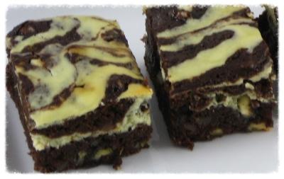 Cream Cheese Swirl Brownie