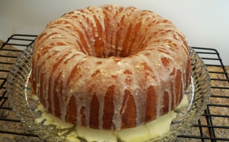 Lemon Bundt Cake from Cake Mix