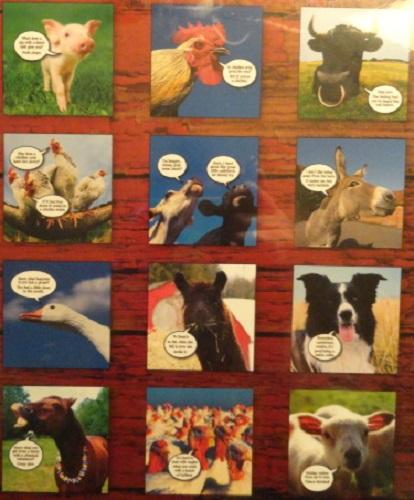 Funny Farm Calendar 1