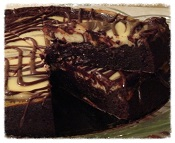 Fudge Brownie Cheesecake 1