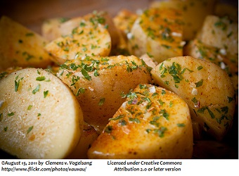 Oven Roasted Potatoes Garlic Herb - Copy