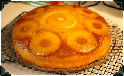 Pineapple Upside Down Cake With Cake Mix