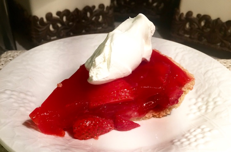 Strawberry Pie made with Jello