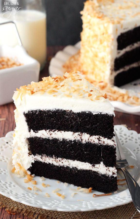 Coconut Chocolate Cake Delight