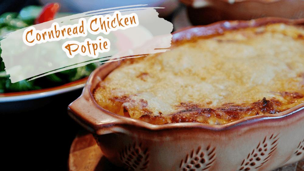 Cornbread Chicken Potpie