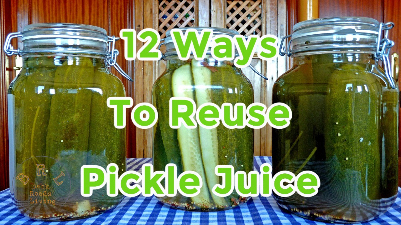 reuses for pickle juice