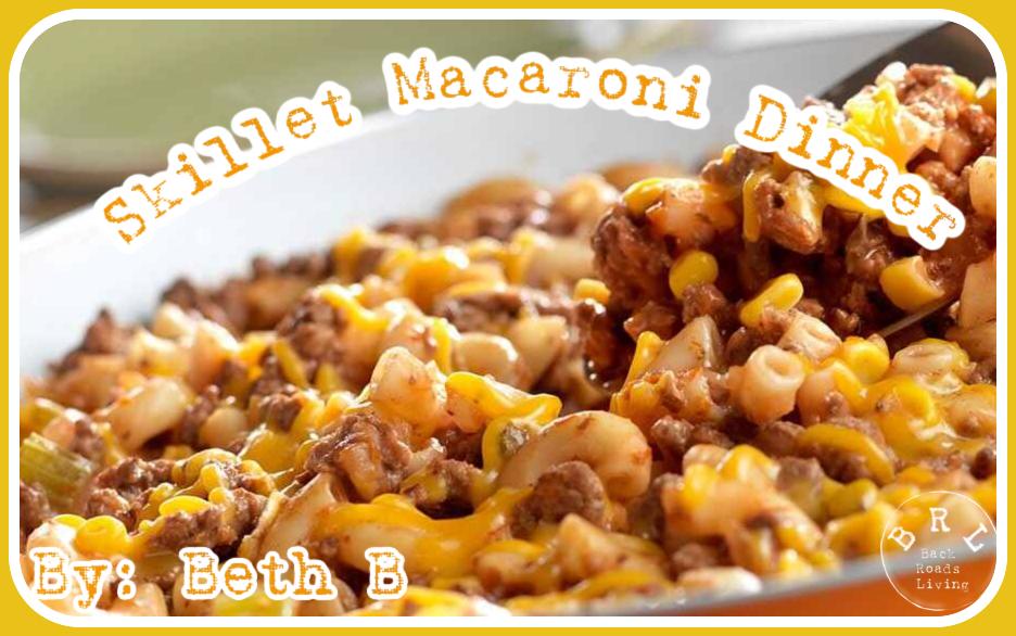 Skillet Macaroni Dinner